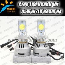 New product!! 35W Hi/Lo Beam super bright car h4 led headlight bulbs 3200lm car led headlight waterproof