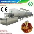 Industrial contínuo alimentação microondas máquina de torrefação de café crisp torrador