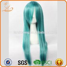 Lowest Price Saigyouji Yuyuko Halloween Costume Wigs Party Hair Wig Anime Long Style Cosplay Wig