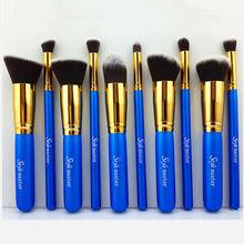 Premium Synthetic Kabuki Makeup Brush Set Cosmetics Foundation Blending