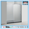 home 8mm toughened glass d shape shower screen in foshan
