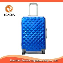 Blue Travel Aluminum Case Travel Bags And Luggages