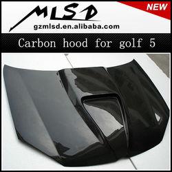 auto tuning carbon hood carbon bonnet for VW mini golf 5 MK5 gta 5