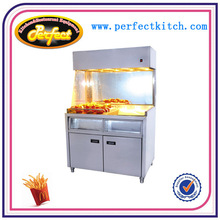 Free Standing French Fries warmer/KFC Potato Chips Warmer/Chips worker