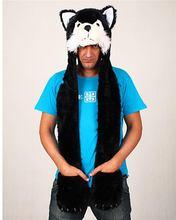 Good quality promotional comfortable baby animal fleece hood hat