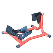 manul motorcycle lift stand with on wheels