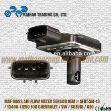MAF MASS AIR FLOW METER SENSOR OEM AFH55M-13 13400-77EV0 FOR CHEVROLET VW SUZUKI GEO