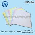 Blanc couleur Computor impression A4 taille papier Pin Type papier d'impression