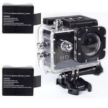 SJ4000 Black 12MP HD 1080p Car Cam Sports DV Action Waterproof Camera