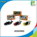 Mini corrida de kart ir com IC pull back kart liga promoção kart brinquedos JC033903