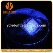 Cute mini led flashing ice cube for decoration