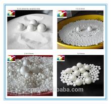 0.6-0.8mm zirconium grinding medium used for magnetic material and piezoelectric ceramics