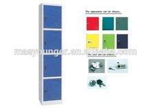 Colorful 4 doors metal school locker, used school locker for sale
