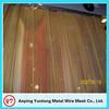 Aluminum Cheap metal fabric / metallic curtain / metal fabric curtain interior design