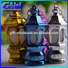 Arab Ramadan Holiday Items LED Mini Lantern Keychain