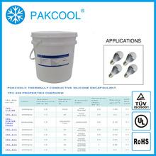 PAKCOOL non-toxic thermal conductivity silicon rubber elastic caulk sealant