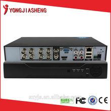 8/16 Channel cctv h 264 dvr firmware