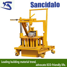 fashionable QT40-3c manual cost of concrete block making machine for sale