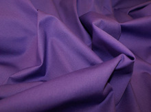 Fabric In Stock Polyester Mystery Charming Purple Gabardine Plain Fabric For Uniform