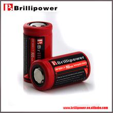 Brillipower 18350 battery 3.7V 900mAh wholesale 18350 li-ion battery