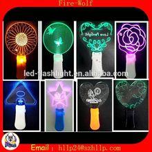 light up princess wand with led / led light up princess wand / concert light up princess wand