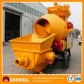 china qualidade super mini diesel betoneira de concreto com bomba