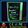 2014 popular new handwriting led price board custom neon sign led display board remote controller led flashing board