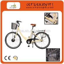 2012 new product electric bike with 36V/10Ah li-ion battery, 140km range per charge, cheap electric bike