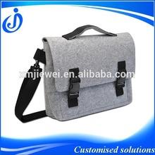 2014 Fashion Shoulder Messenger Felt Laptop Bag For 14 inch