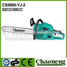 Chaoneng 52cc/58cc home cutter tools, gardening cutter tools, timber cutter tools