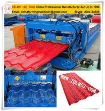 Metall Vitreous Tiles Making Equipment Roof Tile Full Automatic Continuous Tiles Cutting Machine