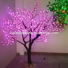 The new LED light decorative glass christmas tree