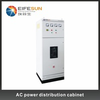 On Grid Solar System Solar Power System AC Power Distribution Cabinet.