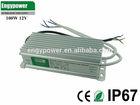 100W 12V waterproof led driver ip67