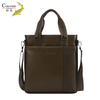 Top grade COD-FISH brand cowhide overnight mens leather messenger bag