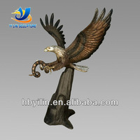 Garden Decoration Copper Outdoor Eagle Sculpture