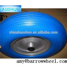 PU /rubber foam filled tyres for wheel barrow