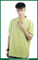 promotional cotton single pocket polo shirt manufacturer