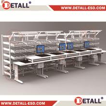 FIFO Shelf for electronics use