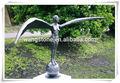 caldo classico per esterni europa elegante greco angelo scultura in bronzo