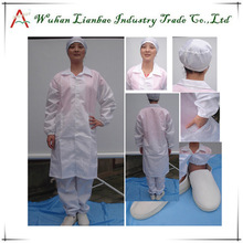 Factory Price Blue or White cotton one piece jumpsuit LAB-CL-02 polyester waterproof coverall