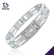 Christmas gift 316L stainless steel handmade leather bracelet ideas
