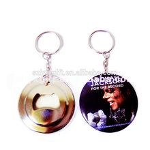 No Minimum Michael Jackson Custom Logo Bottle Opener Keychain