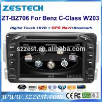 ZESTECH HD Touch Screen Car DVD GPS for Mercedes Benz C class W203 Vaneo Viano Vito A-W168 CLK-C209 W209 G-W463 car dvd gps