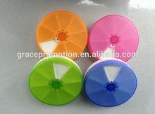 2014 hot vente en plastique Pill box, Hebdomadaire 7 dias boîte de médecine