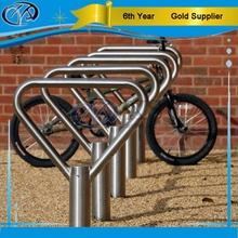 circolare zincato parcheggio bici rack