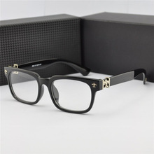 Popular color stainless frame acetate temple high quality optical frame for women and men
