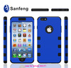 Wholesale 2015 newest 5.5 inch luxury brushed mobile phone cover case for Iphone6