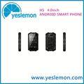 distribuidor de productos quería mtk6577 tv dual core android 3g dual sim de negocios inteligente de teléfono a mano