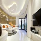 popular crystal white modern house design